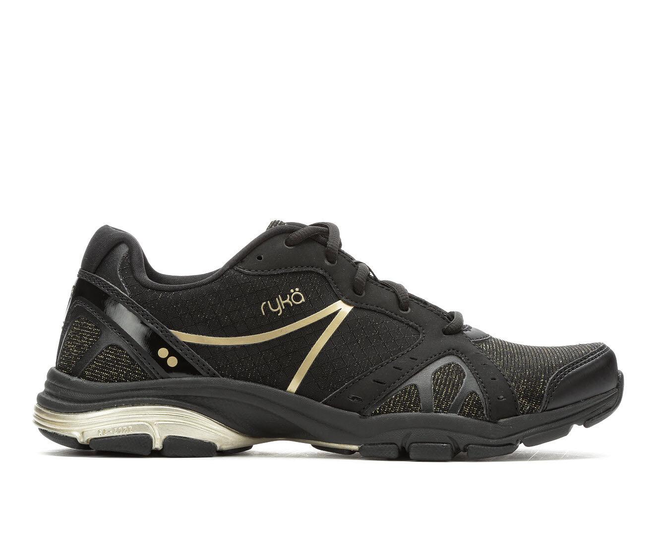 Women's Ryka Vida RZX Training Shoes Black/Gold