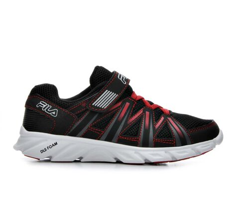 Boys' Fila Crater 7 10.5-3 Running Shoes