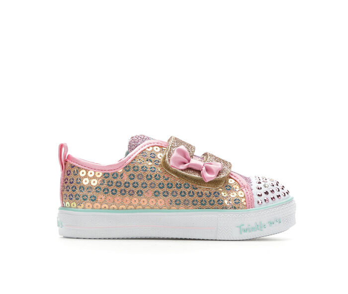 Girls' Skechers Toddler Mini Mermaid Light-Up Sneakers