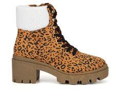 Women's Olivia Miller Ariel Lace-Up Boots
