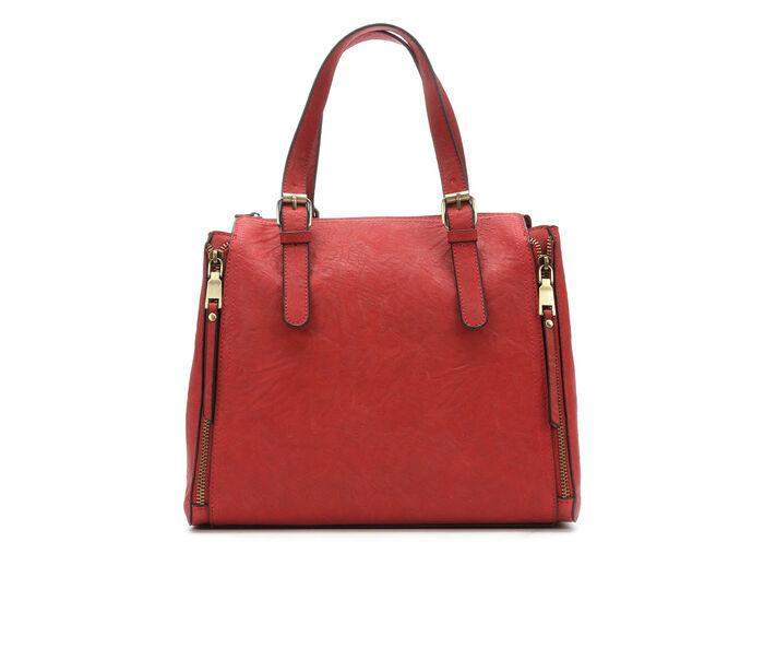 Bueno Of California Satchel Zip Handbag