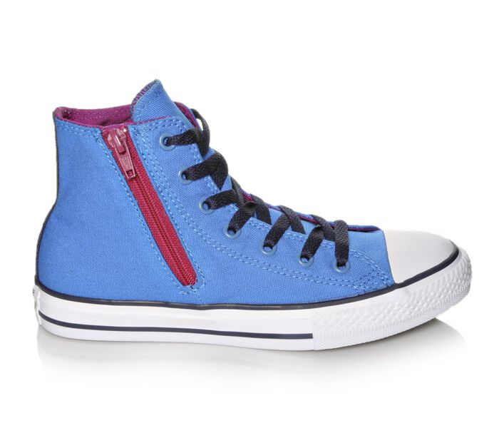 Girls' Converse Chuck Taylor Side Zip Hi Sneakers