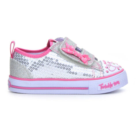 Girls' Skechers Infant Itsy Bitsy 5-10 Light-Up Sneakers
