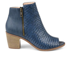 Women's Journee Collection Pilar Peep Toe Booties