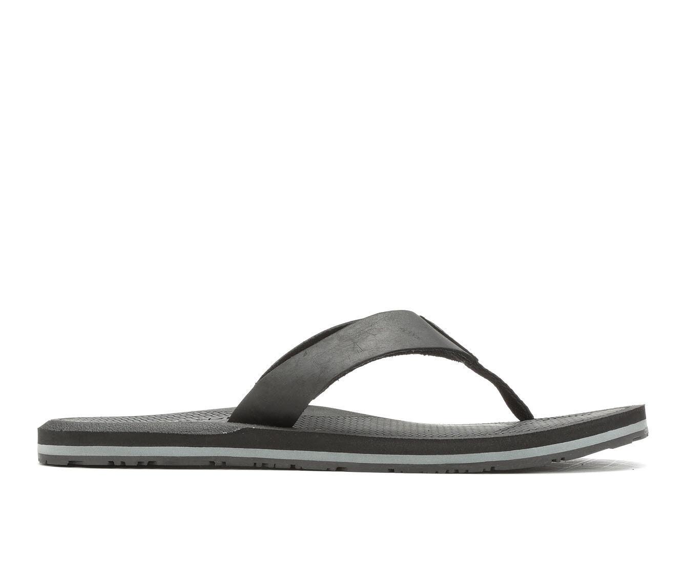 buy latest style Men's Sperry Pensacola Thong Flip-Flops Black