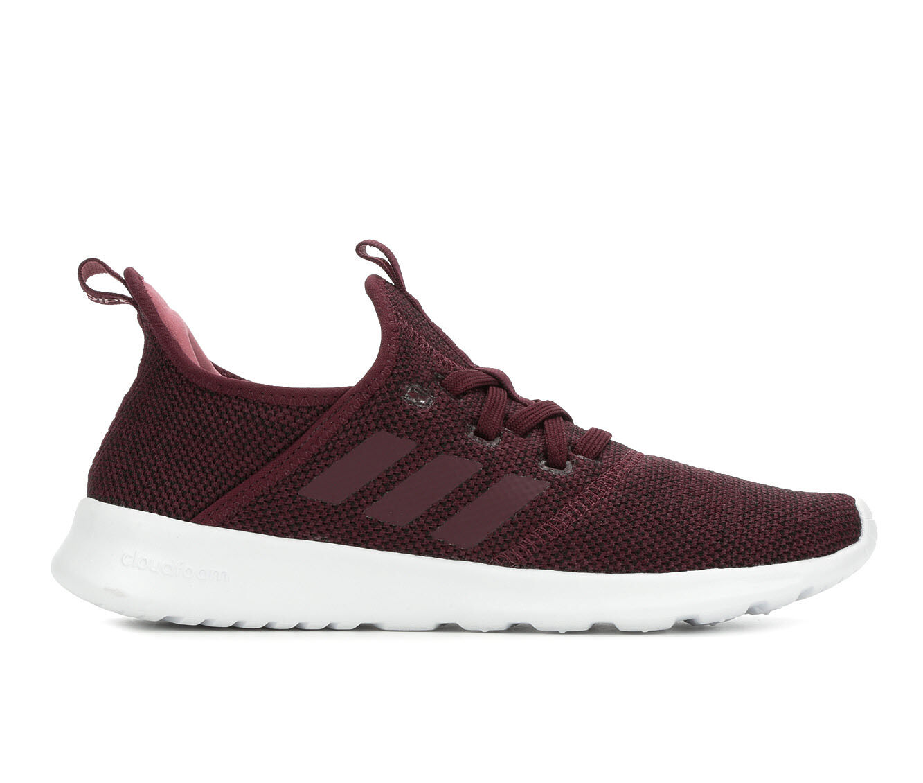 Women's Adidas Pure Sneakers Maroon/White