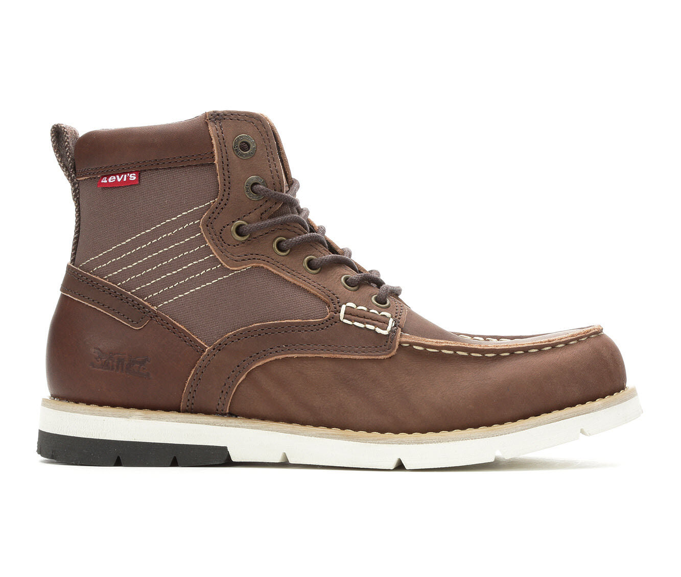 good price Men's Levis Dawson Lux Boots Brown