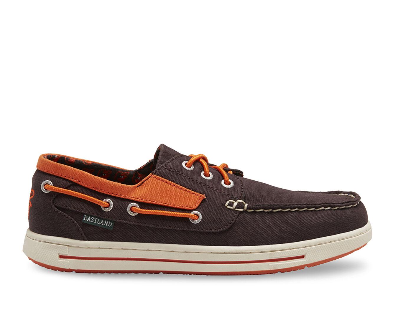 find cheap authentic Men's Eastland Adventure MLB Orioles Boat Shoes Grey