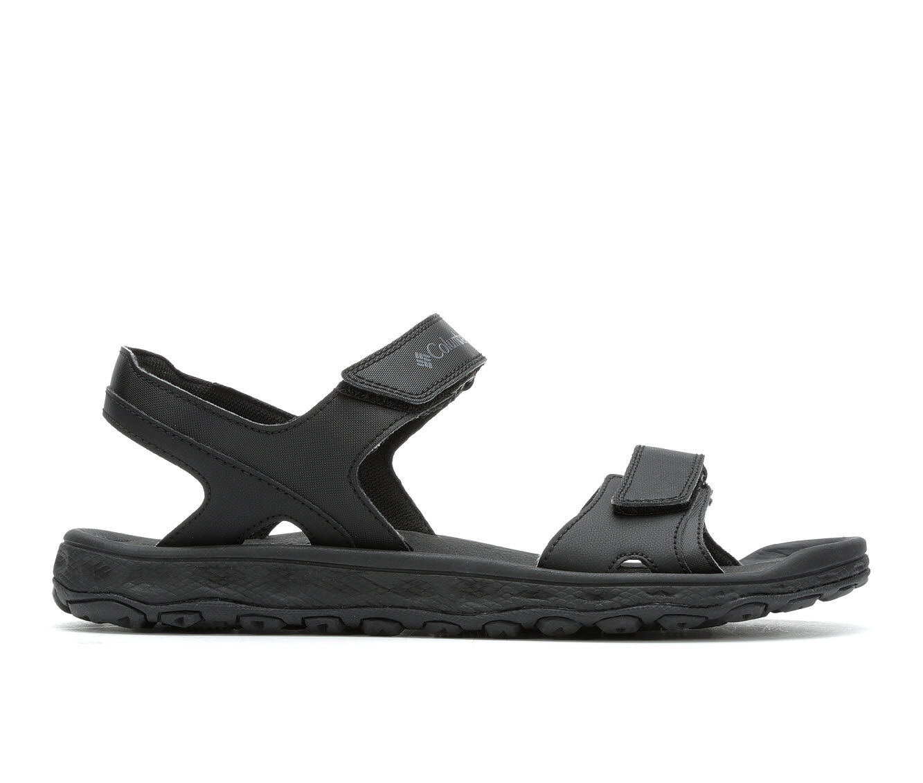 cheapest latest series Men's Columbia Buxton 2 Strap Outdoor Sandals Black/Charcoal