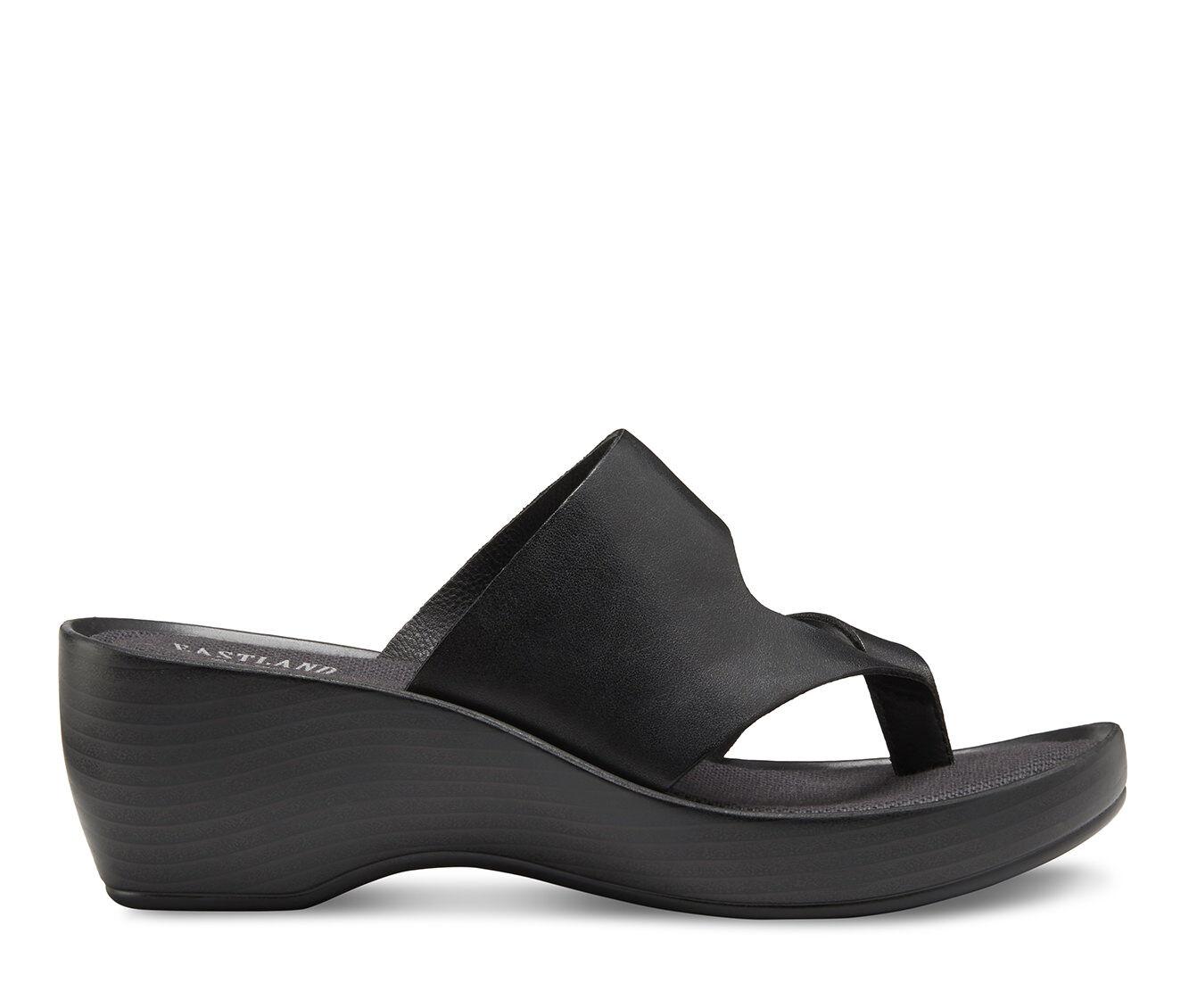 choose new series Women's Eastland Laurel Sandals Black