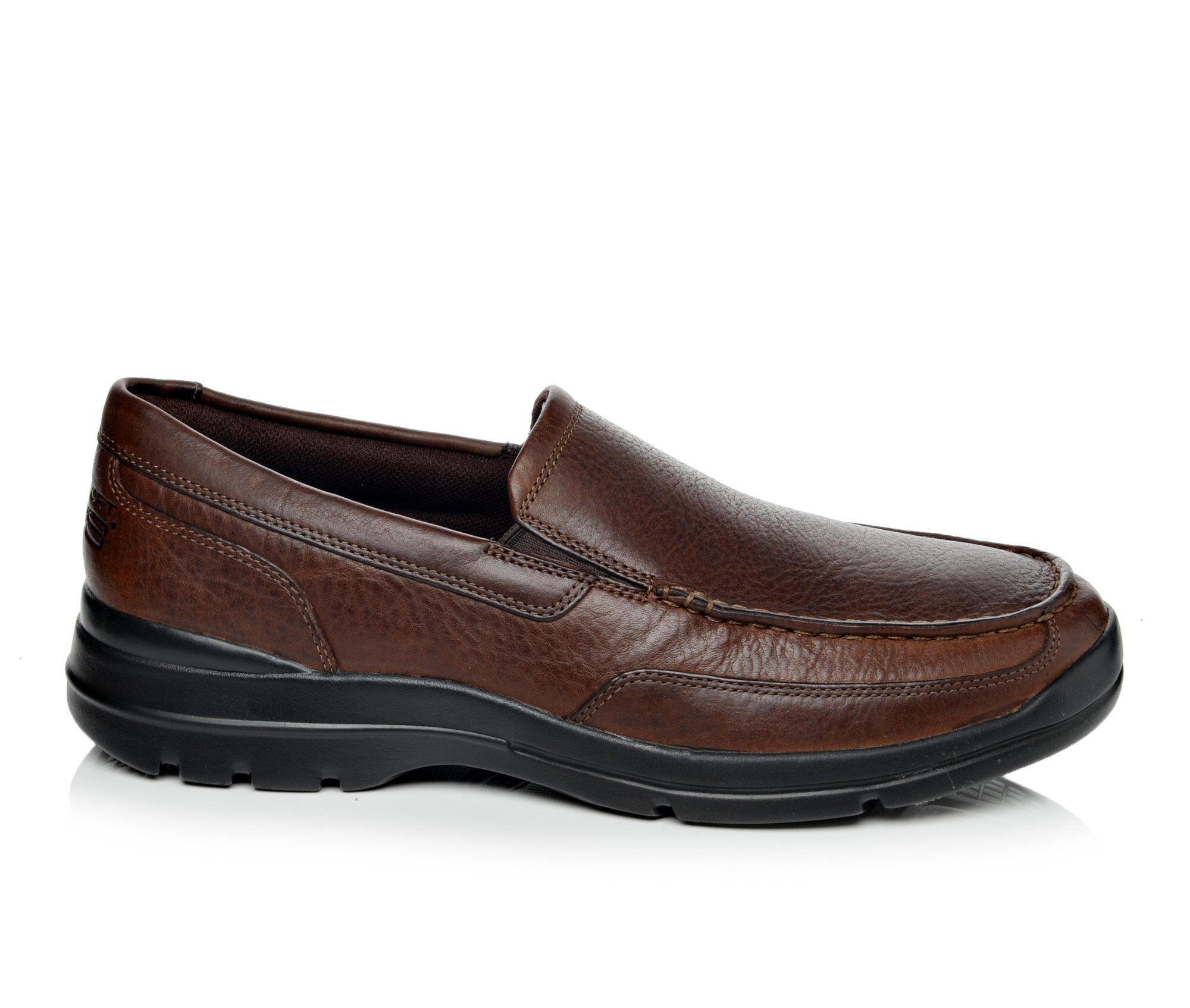 get authentic Men's Rockport Junction Point Slip On Shoes Chocolate