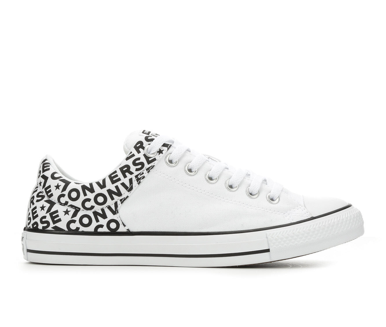 Men's Converse High Street Ox Wordmark 2.0 Sneakers White/Blk/White
