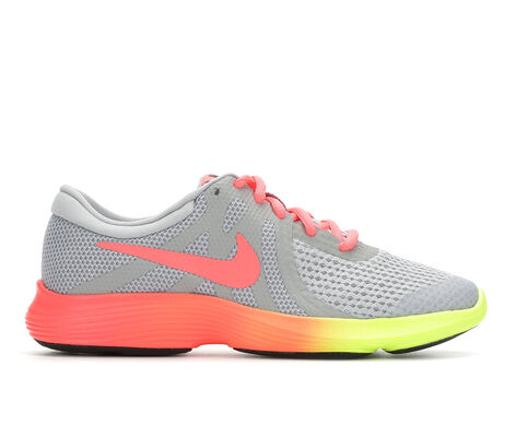 Girls' Nike Revolution 4 Fade 3.5-7 Running Shoes