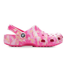 Adults' Crocs Classic Bleach Dye Clogs