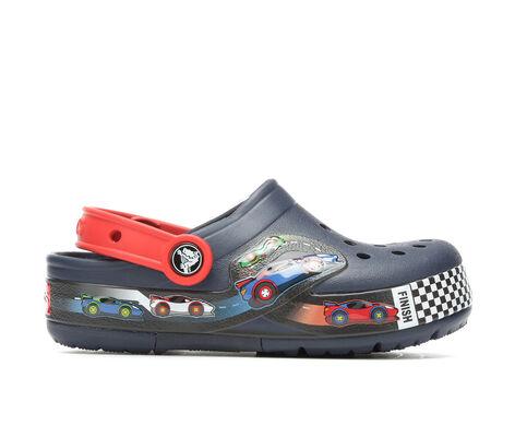 Boys' Crocs Funlab Lights Cars 11-3 Light-Up Clogs
