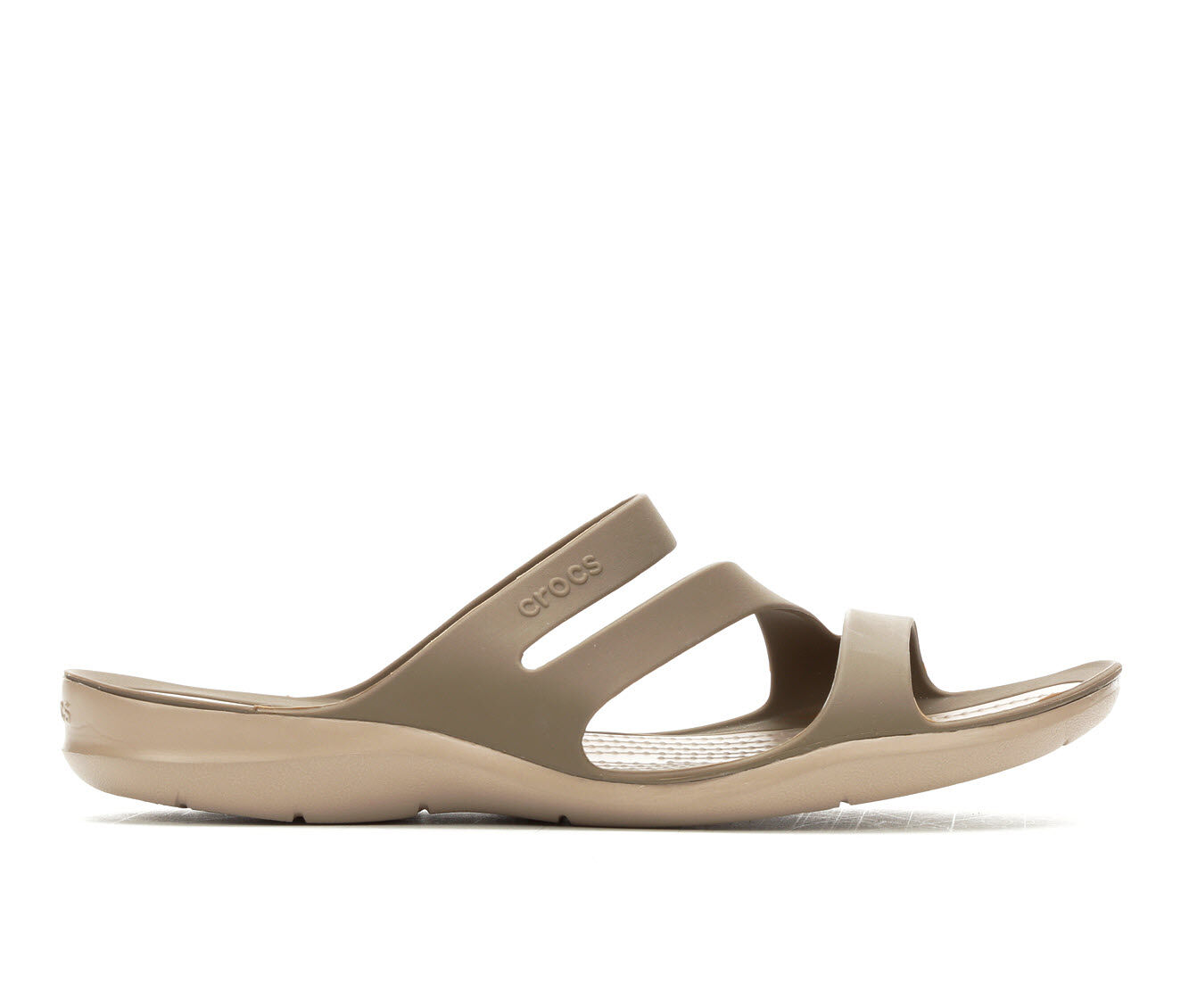 Recently Launched Women's Crocs Swiftwater Strappy Sandals Walnut