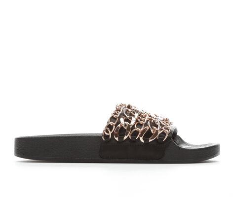 Women's Steve Madden Chains Slide Sandals