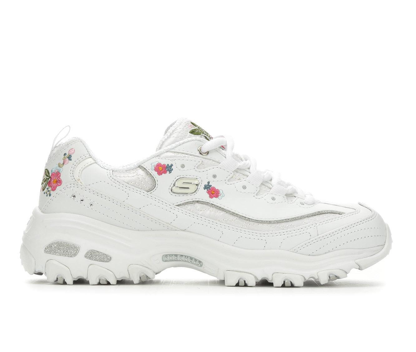 Women's Skechers D'Lites Bright Blossoms 11977 Sneakers