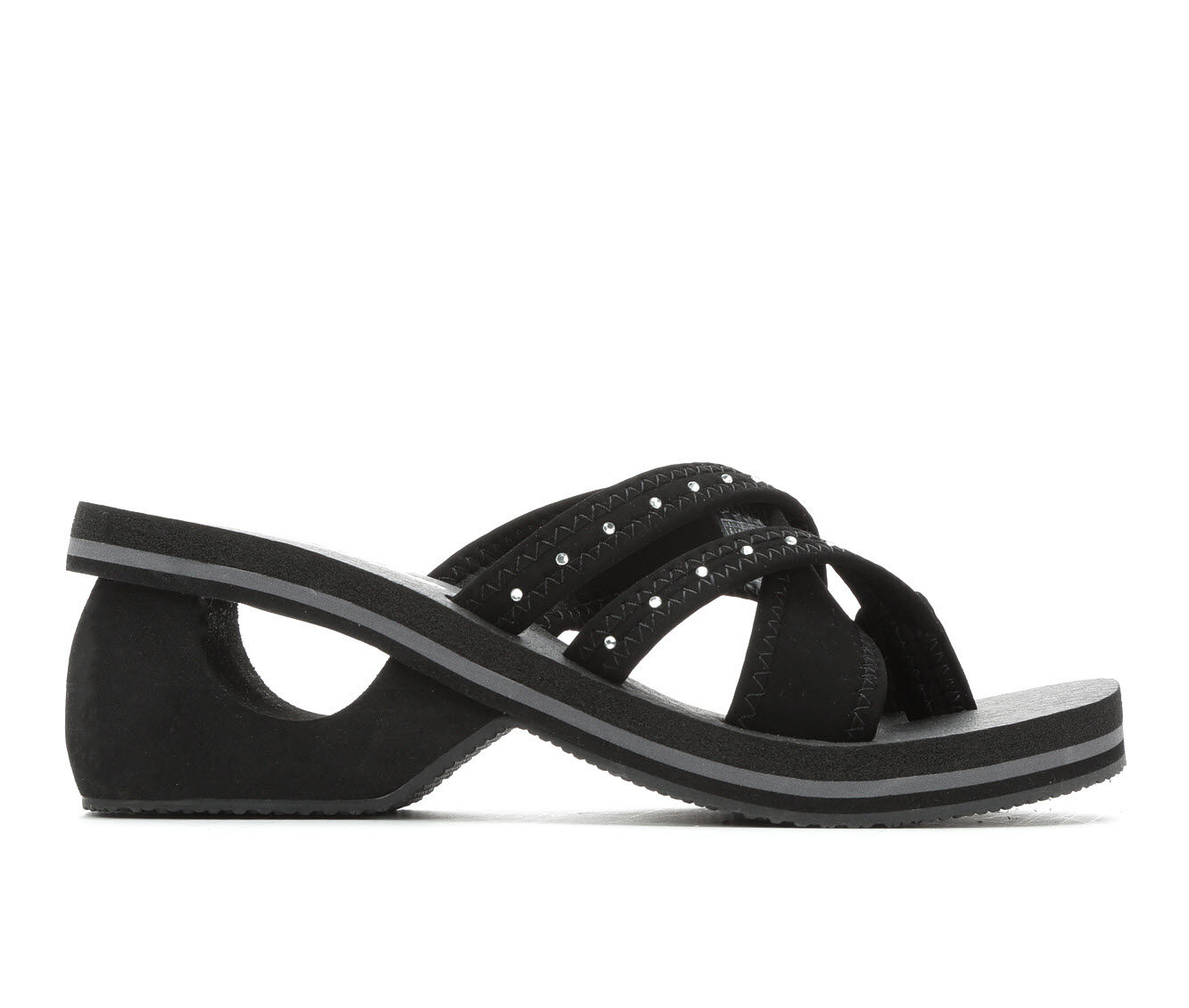 shop authentic new Women's Skechers Cali Cyclers Sole Legacy 31744 Sandals Black