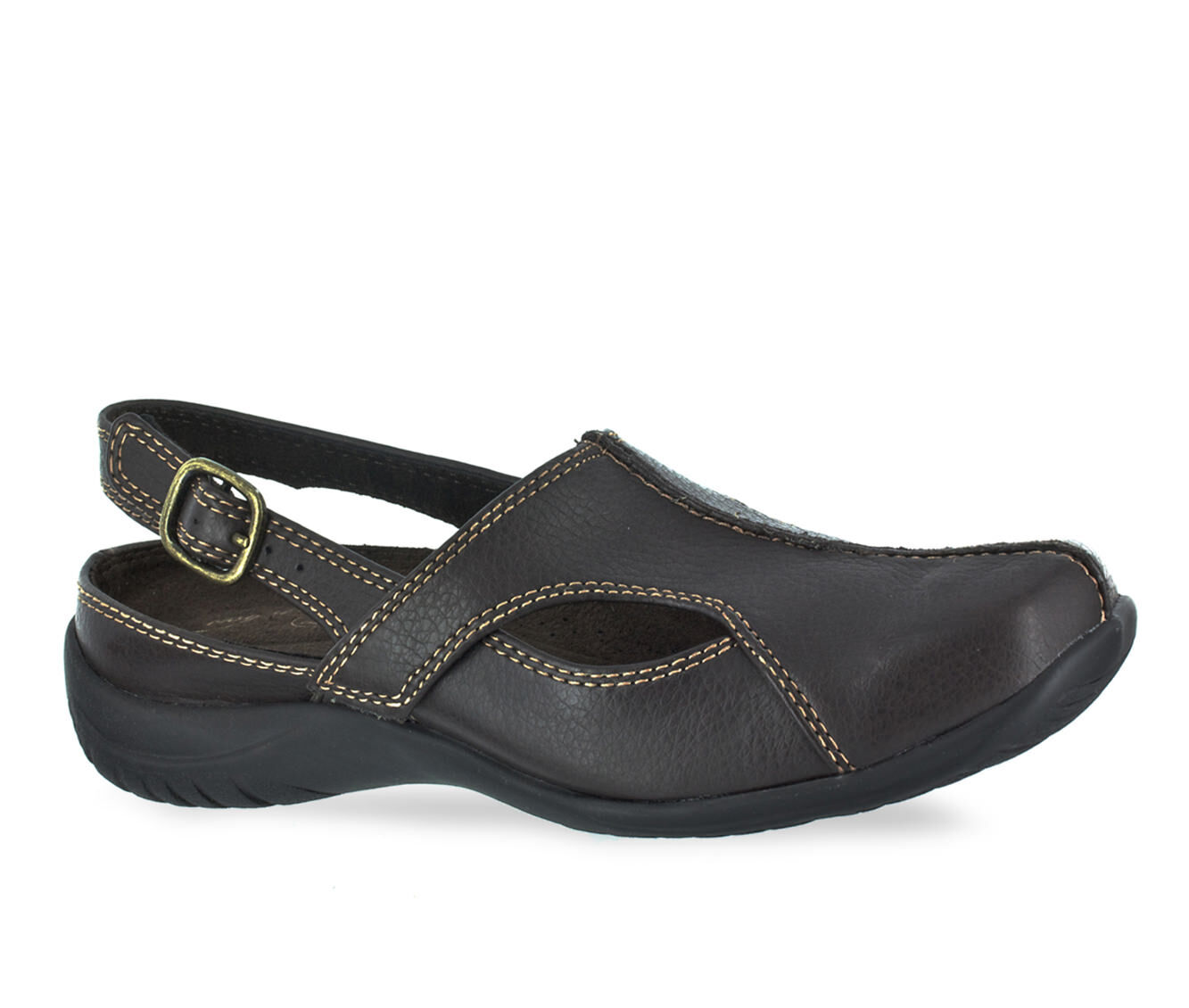 Women's Easy Street Sportser Shoes Brown Tumbled