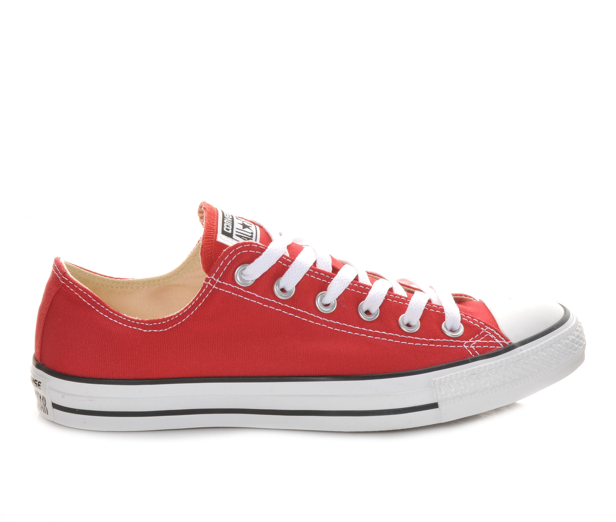 Adults' Converse Chuck Taylor All Star Canvas Ox Core Sneakers Red