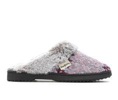 Dearfoams Chenille Fur Scuff Slippers