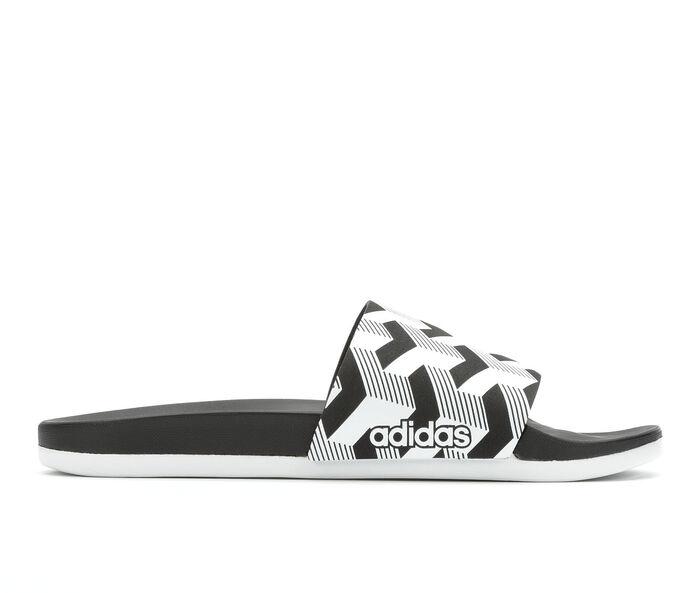 Men s Adidas Adilette Cloudfoam + Link Graphic Slide Sport Slides ... 09f6cde6b