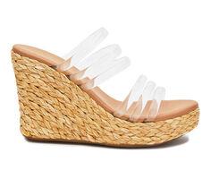 Women's Coconuts Fancy Platform Wedge Sandals
