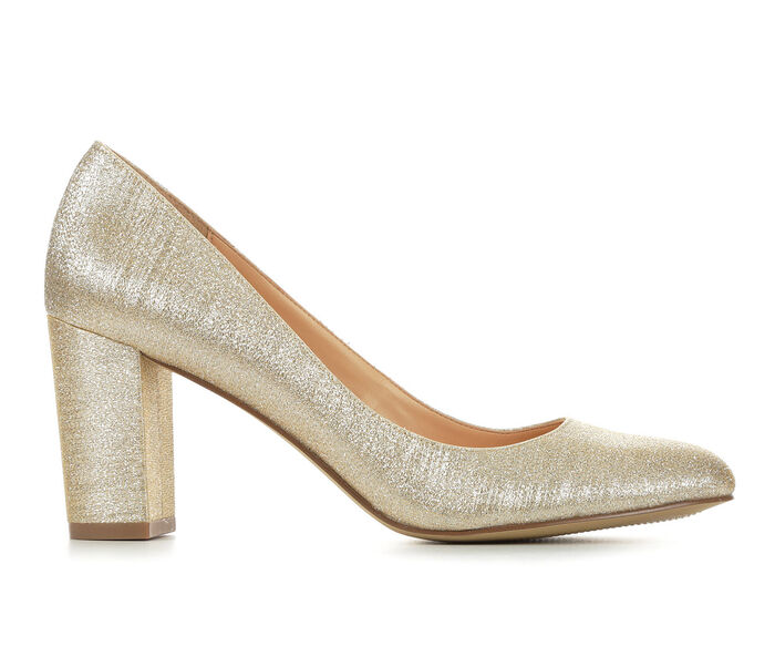 Women's American Glamour BadgleyM Qiana Special Occasion Pumps