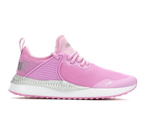 Girls' Puma Pacer Cage Metallic JR 4-7 Running Shoes