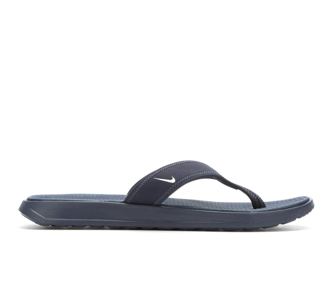 Men's Nike Ultra Celso Thong Flip-Flops Obsidian/White