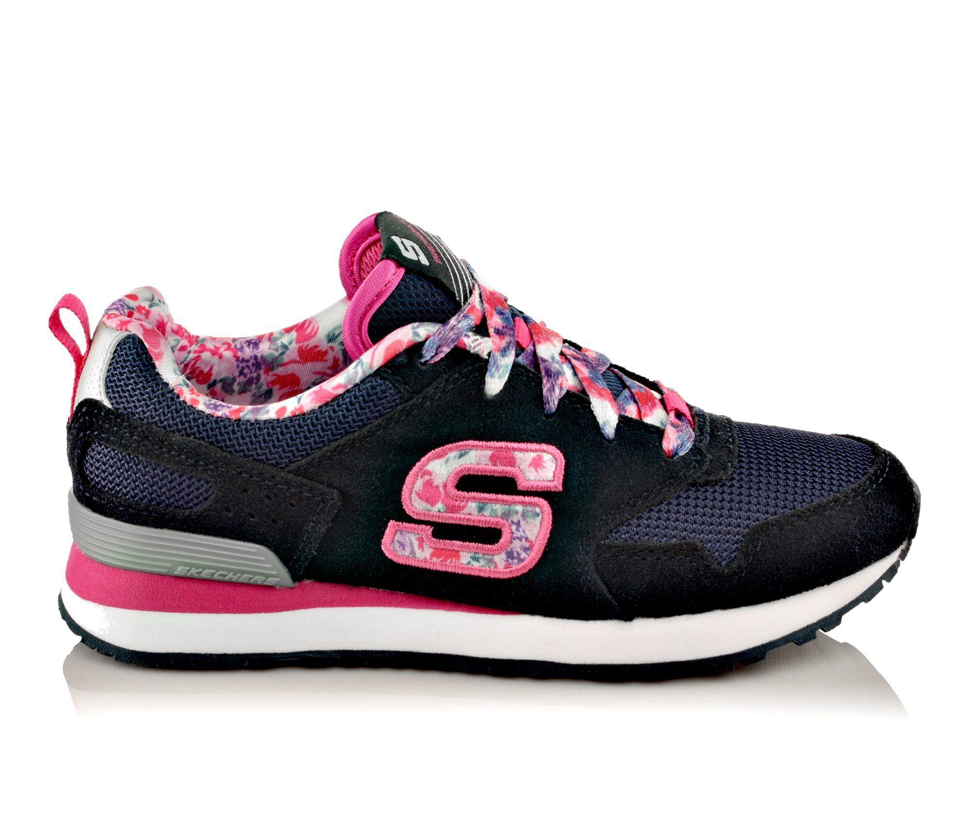 Images Girls Skechers RetrospectFloral Fancies Running Shoes