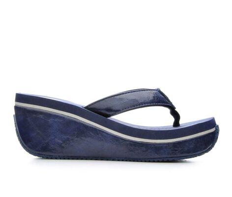 Women's Volatile Primary Platform Wedge Flip-Flops