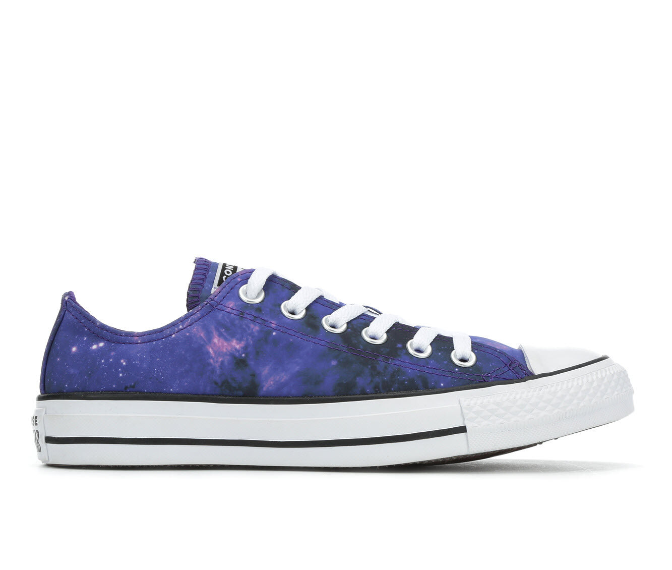 Adults' Converse Chuck Taylor All Star Galaxy Ox Sneakers Black/Purple/Wh