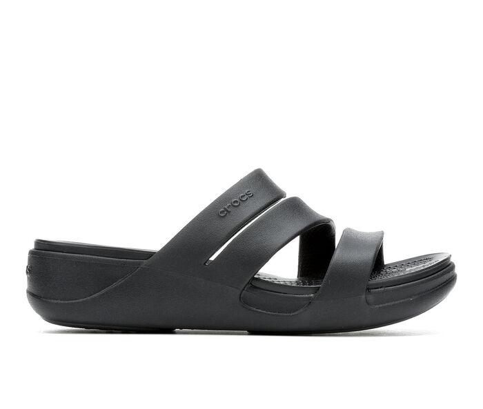 Women's Crocs Montery Wedge Flatform Sandals