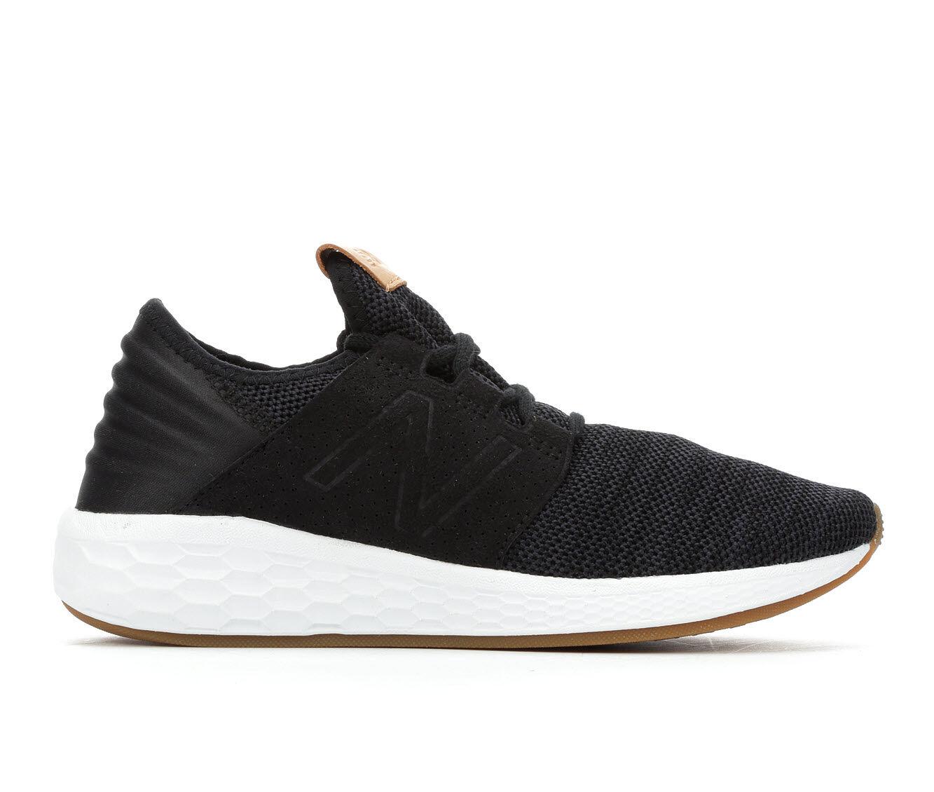 Women's New Balance Cruz 2 Running Shoes Black/White