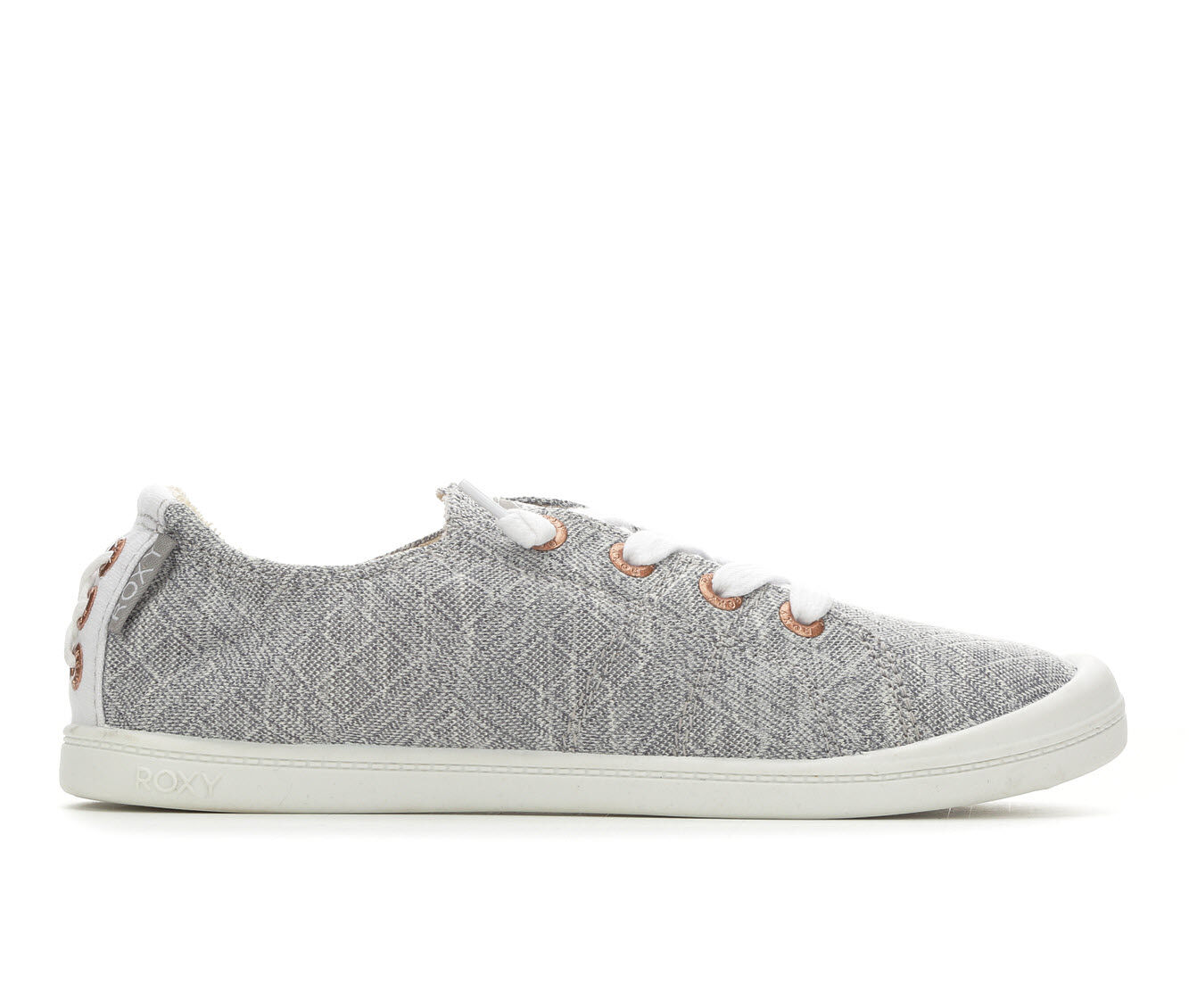 Women's Roxy Bayshore Sneakers Grey Diamond
