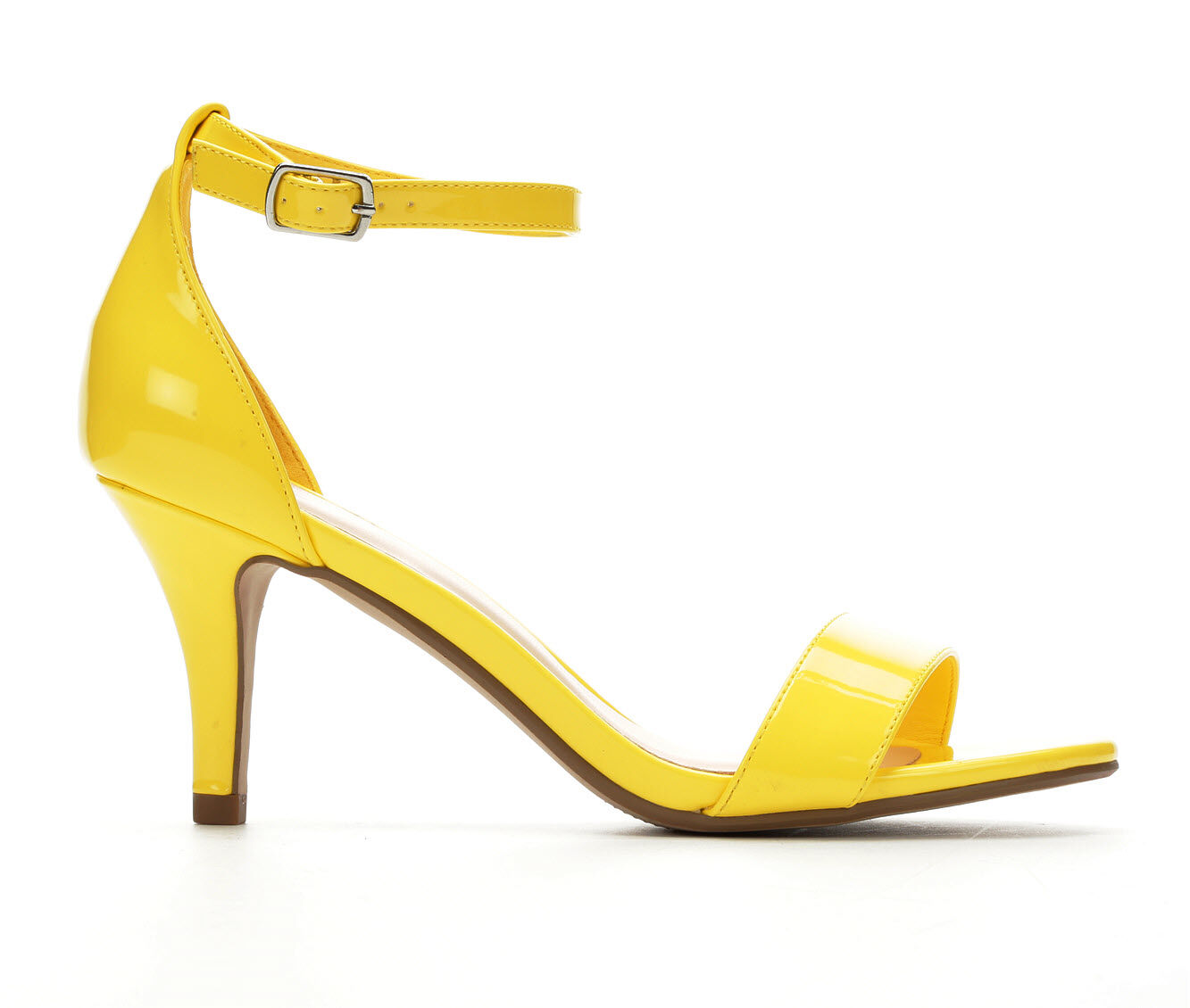 Classic Fit Women's Solanz Hayleigh Heeled Sandals Yellow Pat
