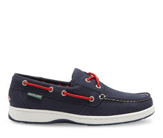 Women's Eastland Solstice MLB Red Sox Boat Shoes