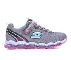 Girls' Skechers Little Kid & Big Kid SLights Sparkle Glimmer Light-Up Sneakers