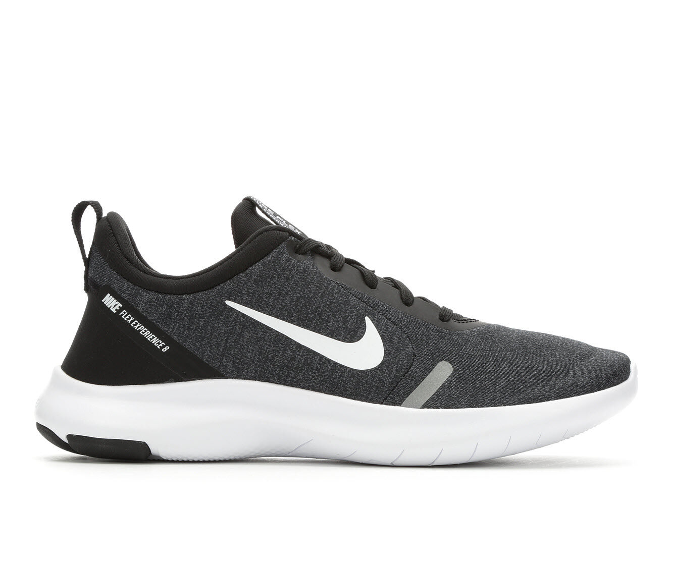 The Whole Network Women's Nike Flex Experience Run 8 Running Shoes Black/Wht/Silv