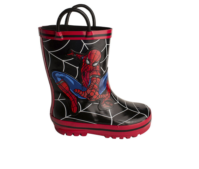 Boys' Marvel Toddler & Little Kid Spiderman Rain Boots