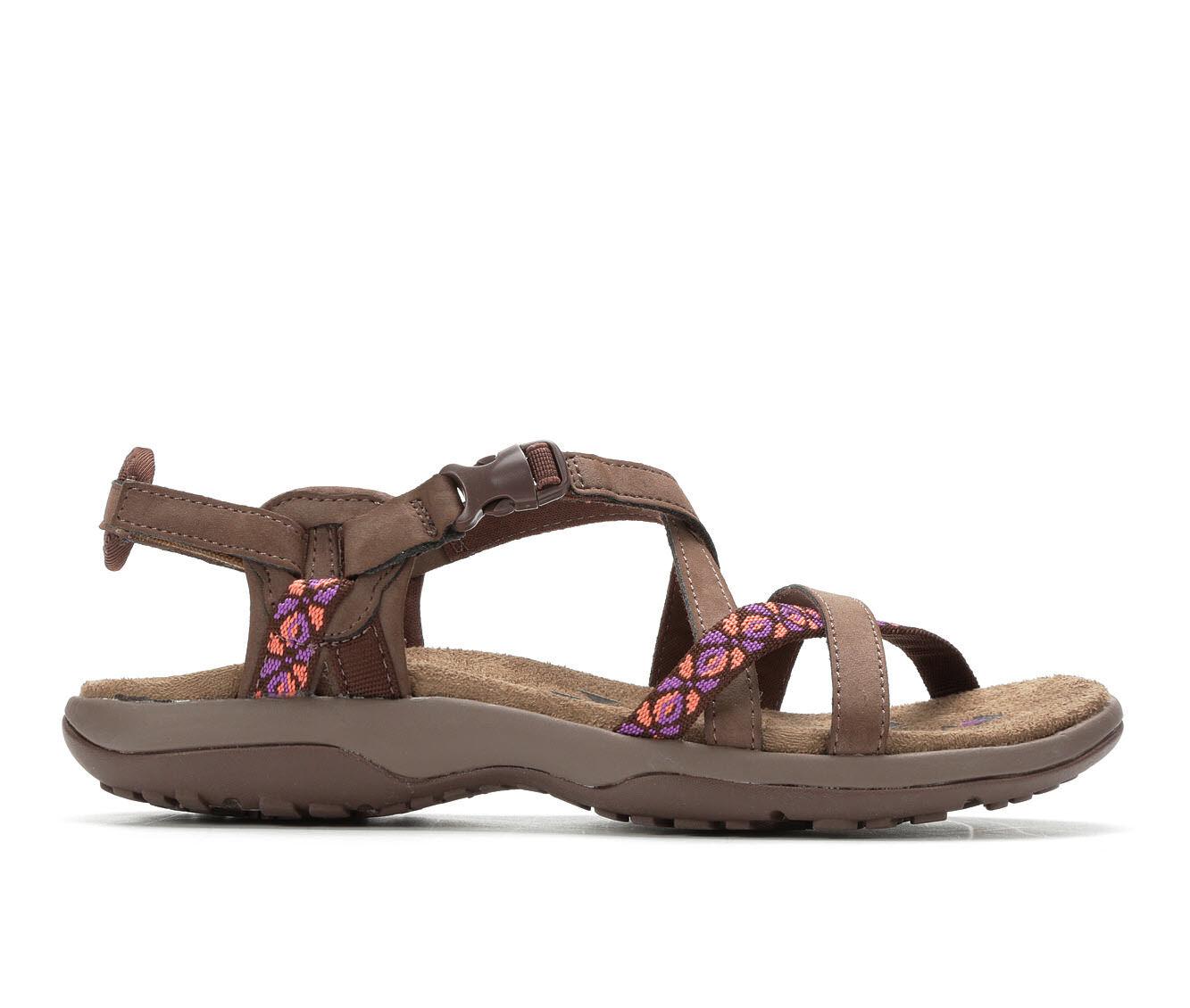 Women's Skechers Reggae Slim Vacay Hiking Sandals Chocolate