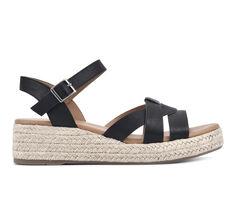 Women's White Mountain Dapper Espadrille Wedge Sandals