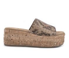 Women's White Mountain Diligent Platform Sandals