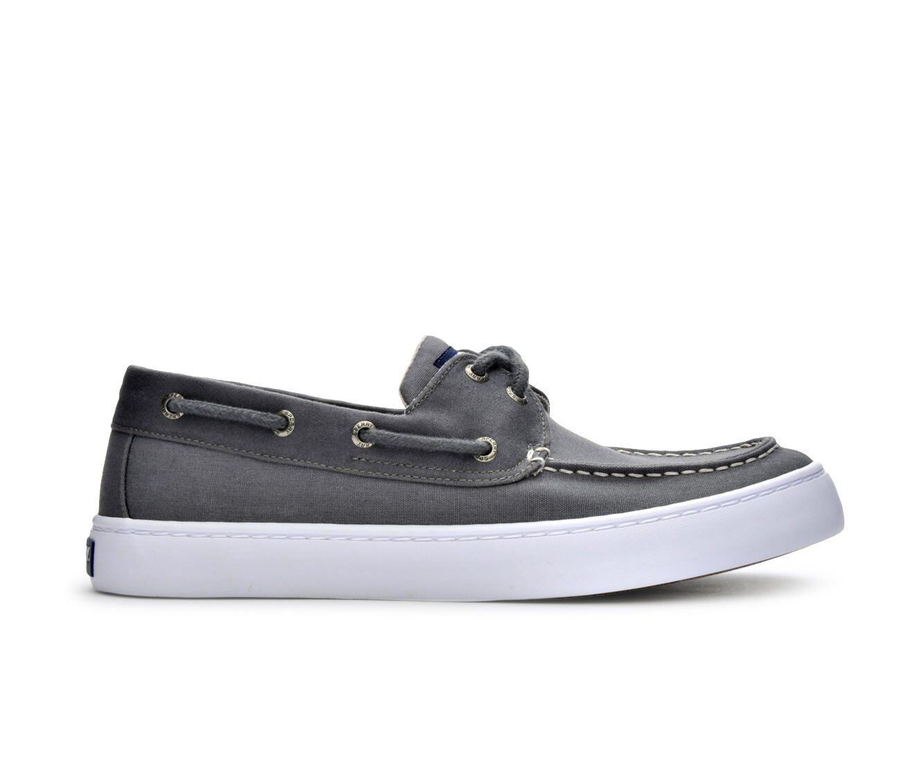 Men's Sperry Cutter 2 Eye Boat Shoes Grey/Charcoal