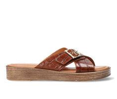 Women's Bella Vita Con-Italy Platform Slide Sandals