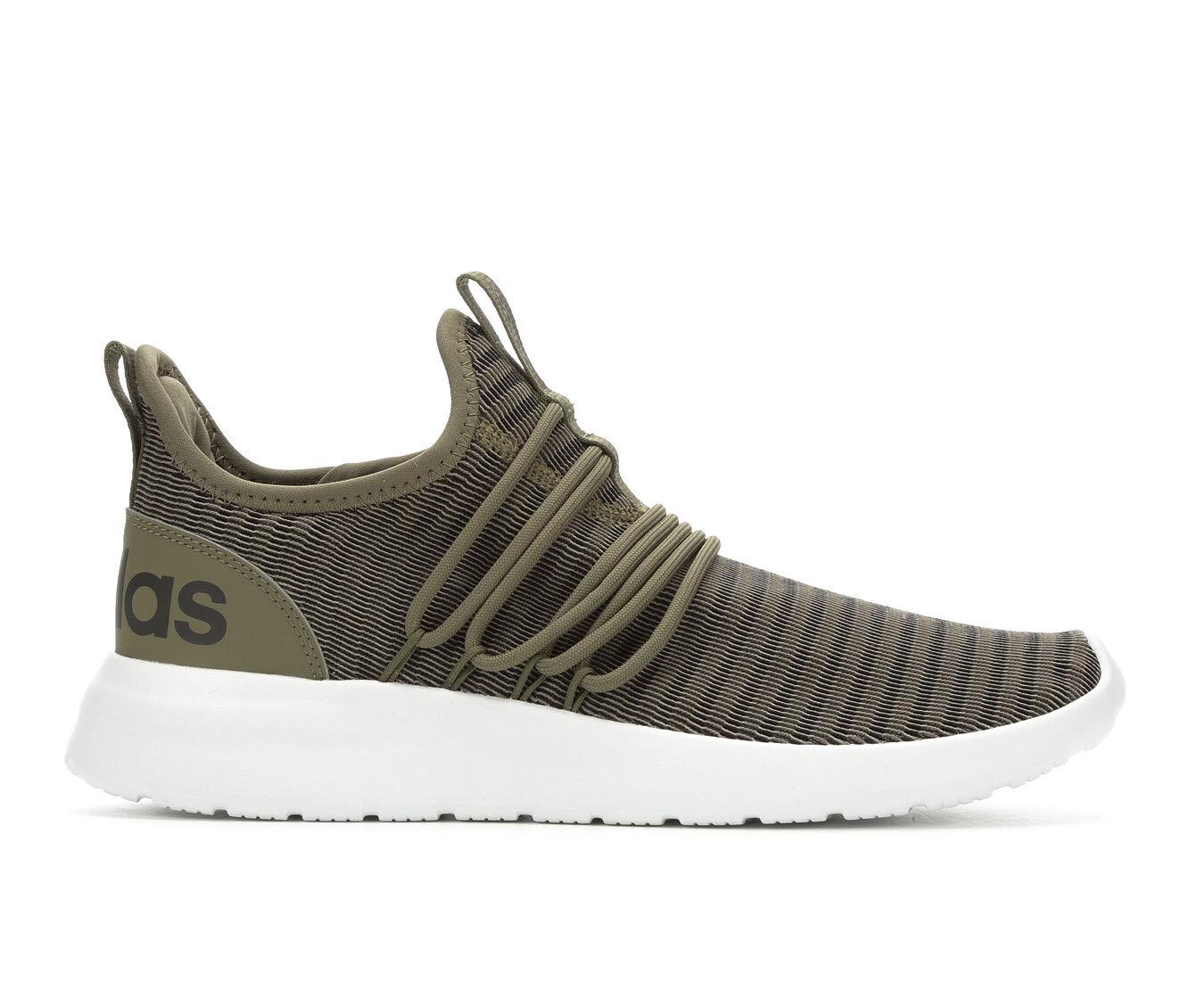 Men's Adidas Lite Racer Adapt Sneakers Olv/Wht/Blk