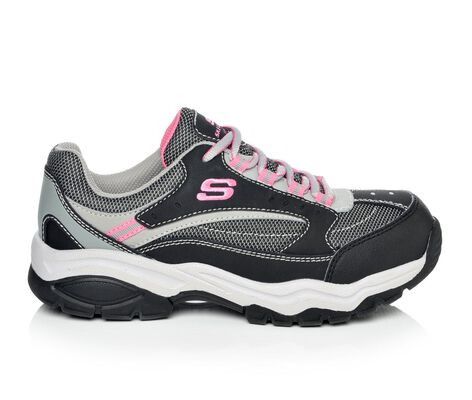 Women's Skechers Work 76601 Biscoe Ladies Steel  Toe Oxford Work Shoes