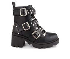 Women's Sugar Flair Combat Boots